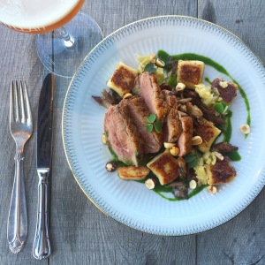 Penyllan Bar and Kitchen duck with gnocchi