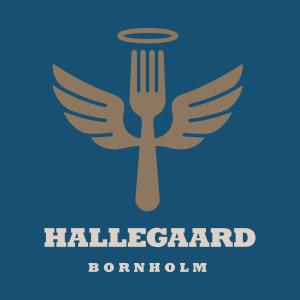 Hallegaard Gardbutik logo